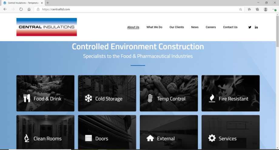 New Central Insulations Website
